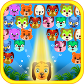 Cute Dogs Bubble Shooter
