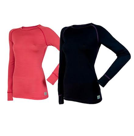 Långärmad tröja, lightwool, dam