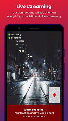 bSafe - Personal Safety App 3.7.52 screenshots 1