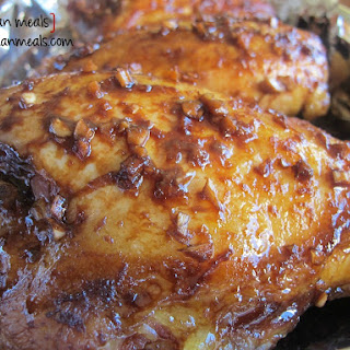 Ginger Soy Chicken.