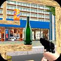 Aim Bottle Shooting Game 2020 icon