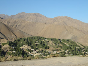 Photo: Day 167 - Fertile Land and a Village Nestled in the Mountains