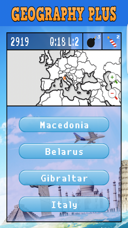 Geography Plus- screenshot