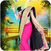 Woman Fancy Saree Photo Suit Editor -Photo Montage