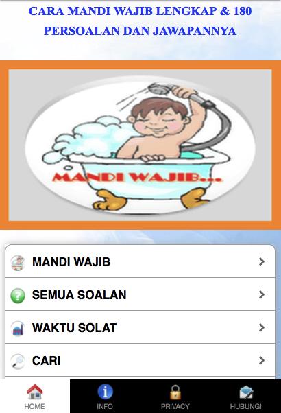 CARA MANDI WAJIB YANG LENGKAP Android Apps On Google Play