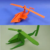 How to make a paper helicopter Icon