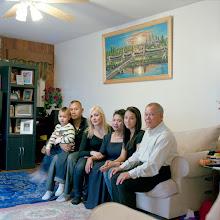 Photo: title: Jessica French, Elias Urriola, Hoeum Ith, Seam, San & Kaylee Pao, Portland, Maine date: 2011 relationship: friends, met through Emma Hollander years known: Jess 15-20 years, San 0-5