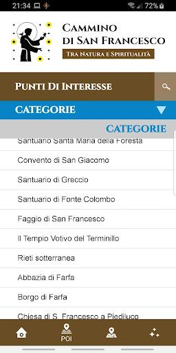 Cammino di San Francesco screenshot 1
