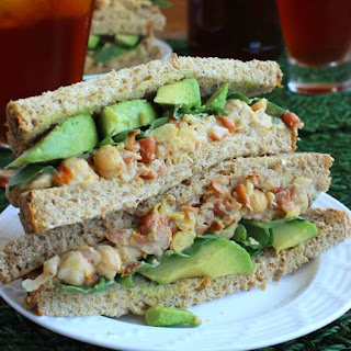 Loaded Chickpea Salad Sandwich