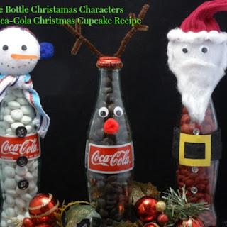 Coca-Cola Cupcakes with Coca Cola Icing