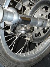 Photo: Egli Vincent 1000 de 1949 les freins à disque
