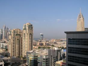 Photo: CB150001 ZEA - Dubaj - widok z pokoju na 26p