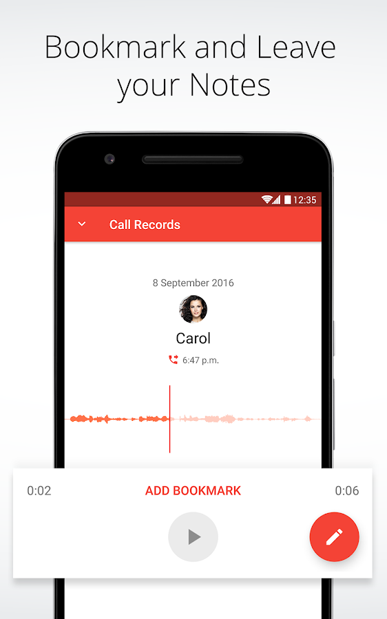 Automatic Call Recorder for Me- screenshot