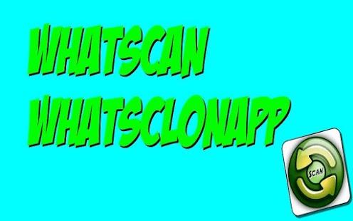 Whatscan Whatsclonapp - náhled