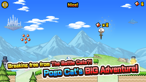 Go! Go! Pogo Cat android2mod screenshots 3