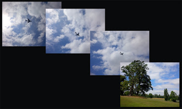 Photo: British Airways 747 flypast on route to RIAD (over Bowood House)