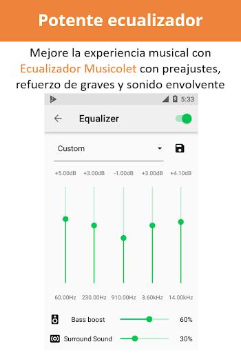 Musicolet Reproductor de Música [sin anuncios] screenshot 4