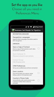 Business Card Reader for Pipedrive CRM- screenshot thumbnail