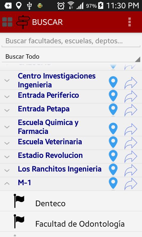 Скриншот Guía USAC