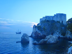 Photo: Sunset on Dubrovnik