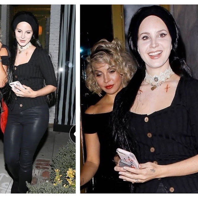 Lana Del Rey Spotted Leaving Jayz Beyonce S Halloween Party Last Night Entertainment News Gaga Daily