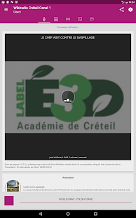 Wikiradio Lycée- screenshot thumbnail