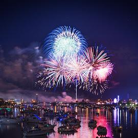 Bay City Fireworks Festival 2016 by Ryan Catanese - Public Holidays July 4th ( bay city, fireworks,  )