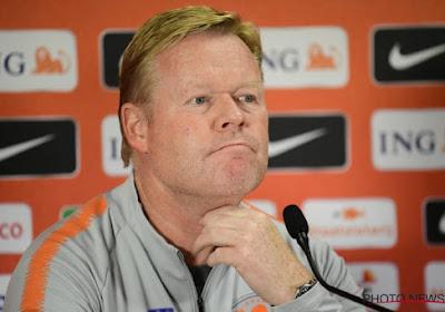 """""""La dernière chance de la Belgique"""" : le sélectionneur des Pays-Bas voit la Belgique favorite à l'Euro 2021"""