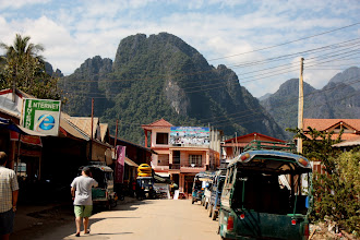 Photo: Day 303 -  Another Street in Vang Vieng