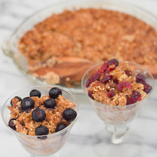 Nutty Quinoa Breakfast Bake
