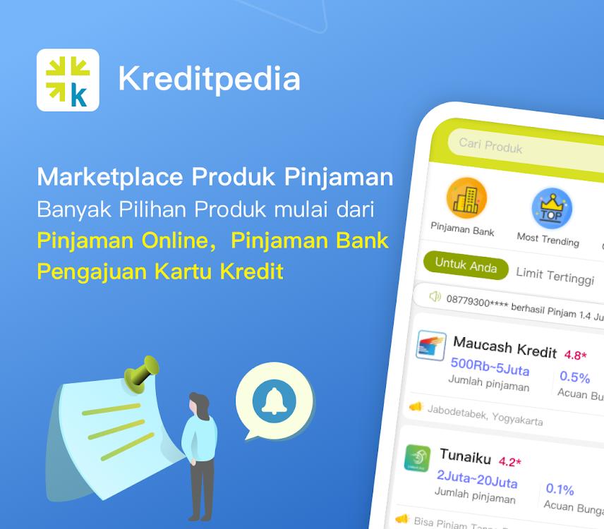 Kreditapedia Pinjaman Online Cepat Cair Mudah Android