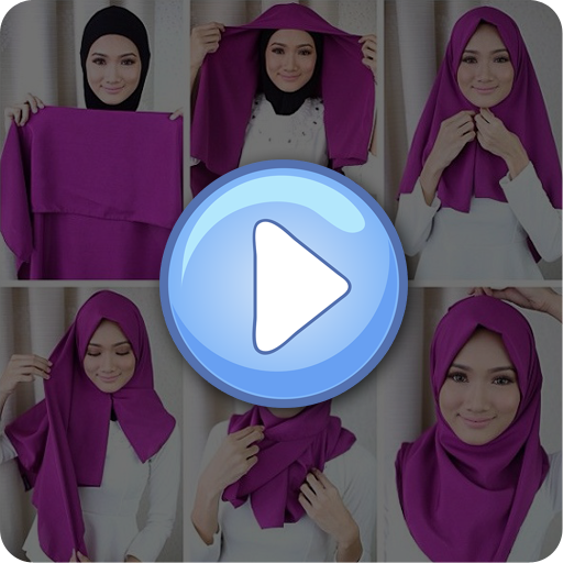 Tutorial Hijab Segi Empat 遊戲 App LOGO-硬是要APP