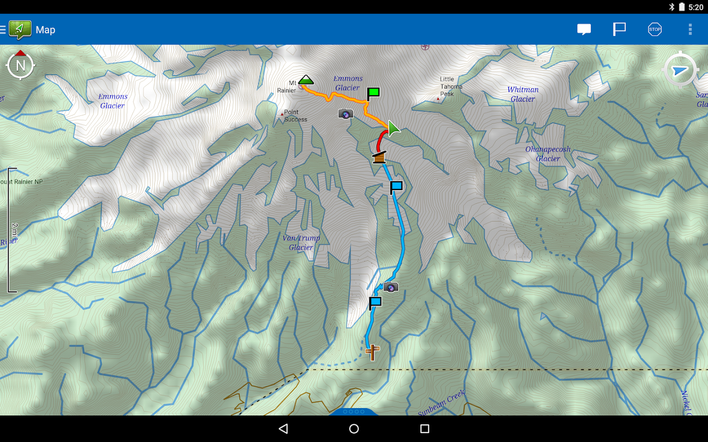 Earthmate – GPS with Topo Maps- screenshot