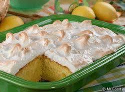 Lemon Meringue Cake Recipe