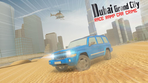 Dubai Car Crime City Grand Race Ramp 1.0 screenshots 2