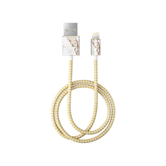iDEAL Fashion Lightning Cable 1M Carrara Gold