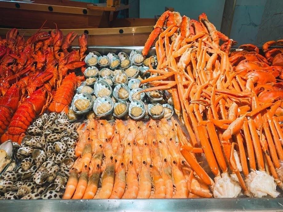 Buffet hải sản Royal Garden
