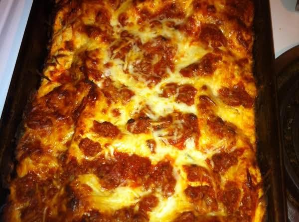 Sunday Dinner Lasagna Recipe