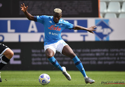 🎥 Serie A :Carton du Napoli avec un doublé de Victor Osimhen, frayeur pour Dries Mertens sorti sur blessure