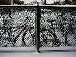 Photo: Cykler i Koopmannsstræde, Silkeborg