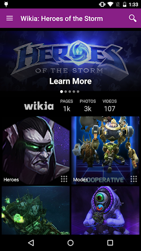 Wikia: Heroes of the Storm