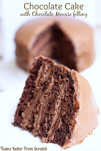 10 Best Chocolate Cake With Chocolate Custard Filling Recipes