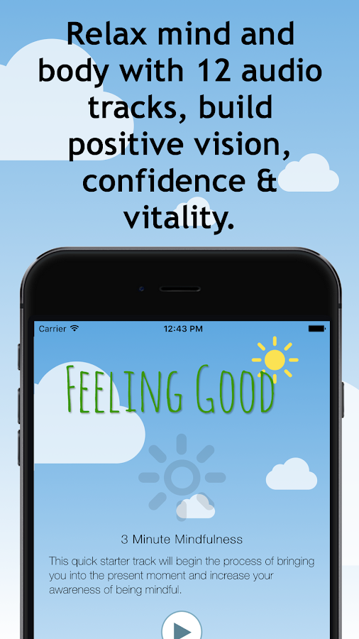 Feeling Good depression course- screenshot