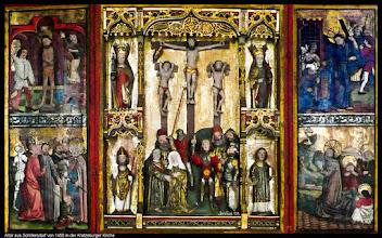 Photo: Der Altar aus Schillersdorf von 1450 steht jetzt in der Kratzeburger Kirche.