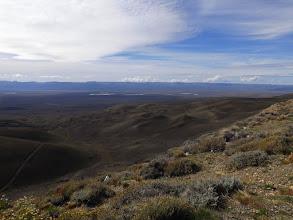 Photo: Blick über die patagonische Pampa.