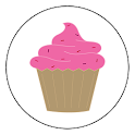 Cupcake Rosa icon