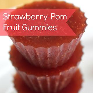Strawberry-Pom Fruit Gummies