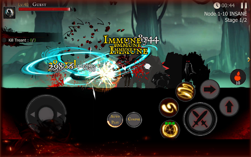 Shadow of Death: Dark Knight - Stickman Fighting  mod screenshots 5