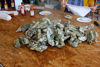 Photo: Bo F proved his legendary guru of oyster steaming didn't happen by chance.