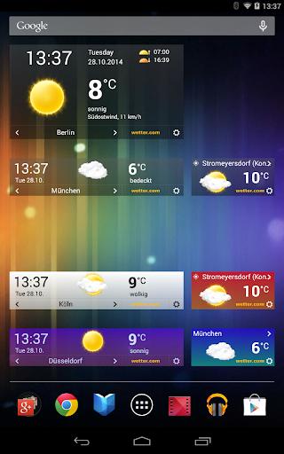 wetter.com - Weather and Radar  screenshots 12